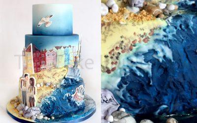 Hand-painted Seaside Scenes