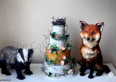 British Wildlife Cake