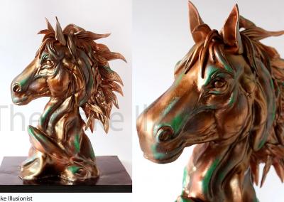Horse Bronze LR