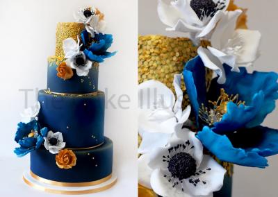 Royal Blue Wedding LR2