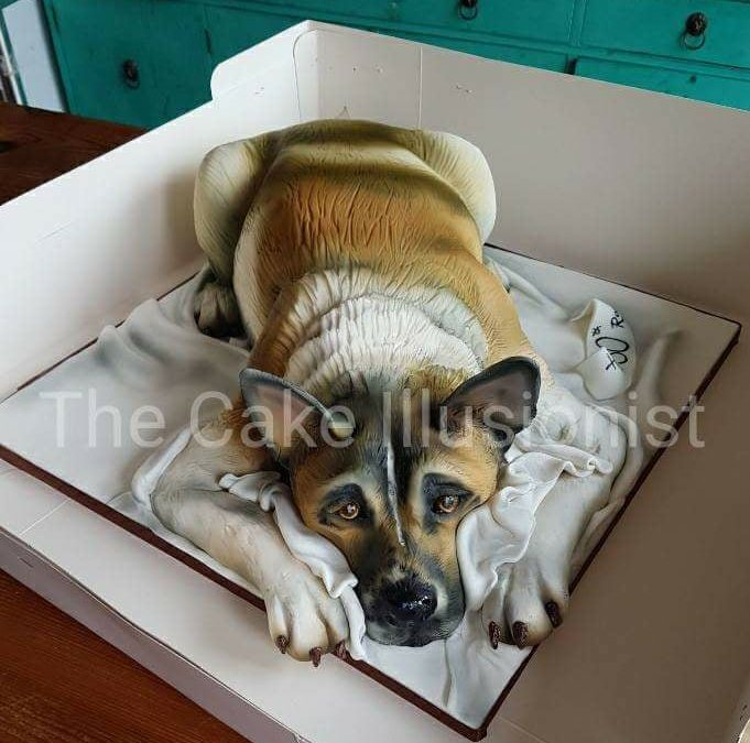MEDWAY – Beginners Sculpting & Airbrush Akita Cake Class