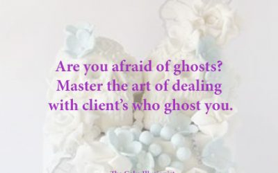 Are you afraid of ghosts? Master the art of dealing with client's who ghost you.