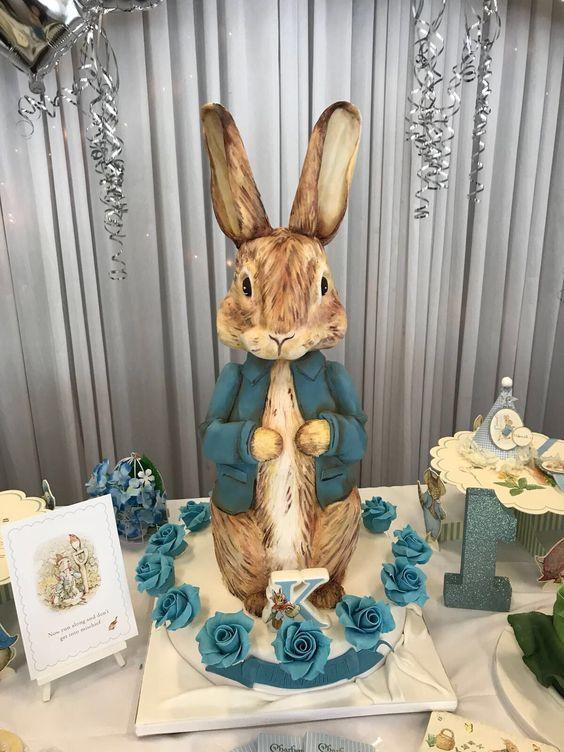 Easter Bunny Cake, Easter rabbit cake, Rabbit Cake